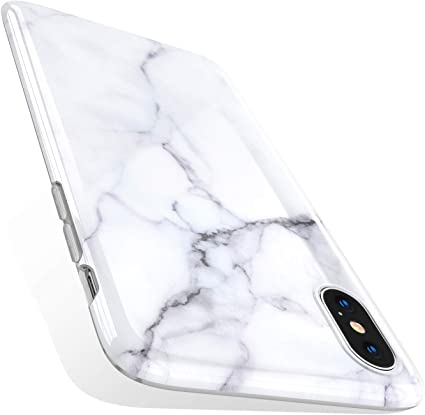 Torras Marble Iphone Xs Case Iphone X Case Ultra Thin Slim Case Soft Marble White Tpu Phone Case For Iphone X Iphone Xs