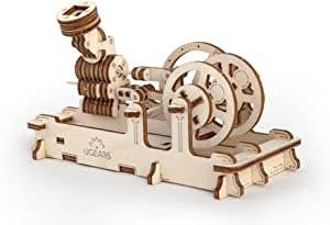 Engine - Unique Glue Free Eco Friendly Wooden Mechanical Self Assembly Moving Kit
