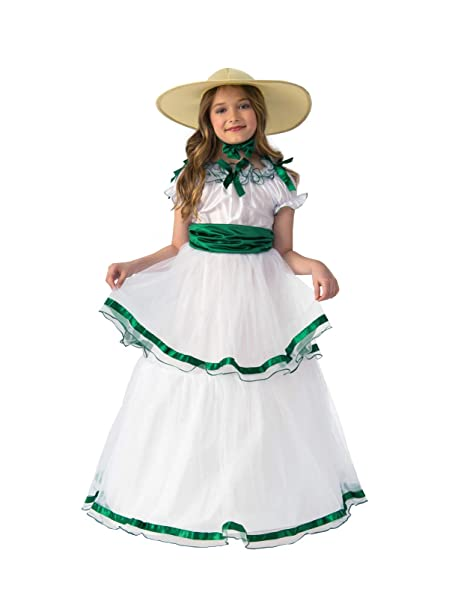 Victorian Kids Costumes & Shoes- Girls, Boys, Baby, Toddler Rubies Girls Sweet Southern Belle Costume $42.22 AT vintagedancer.com