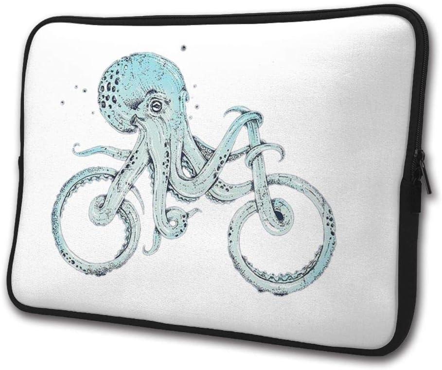 Octopus Bike Laptop Sleeve Bag//Business Briefcase Compatible13//15 Inch Laptop
