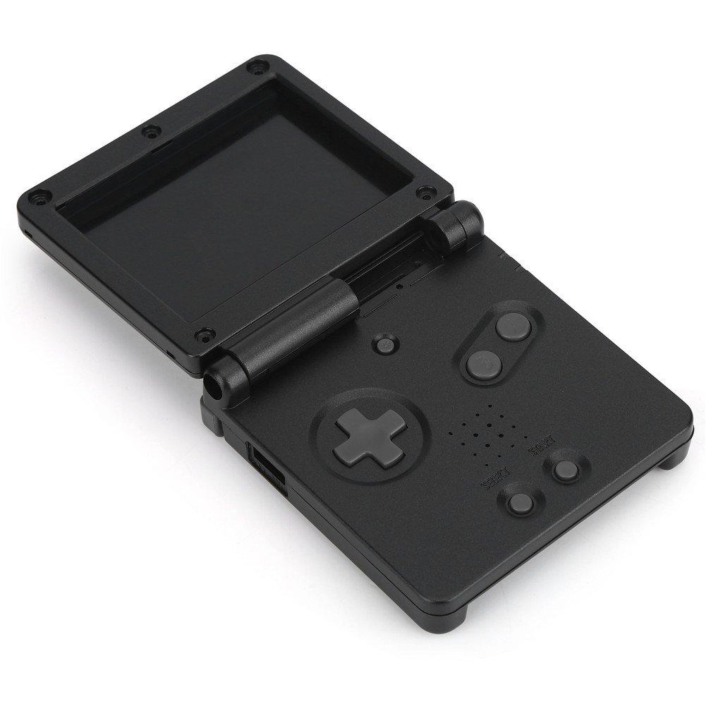 Zerone Shell Case para Game Boy SP, Repuestos Chasis Shell Case Cover Reparación Kit para Nintendo Game Boy Advance GBA SP