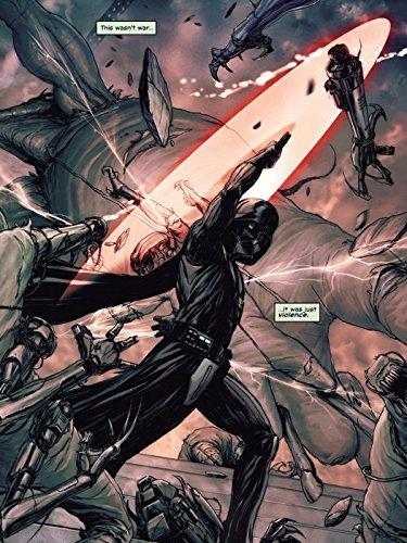 Darth Vader Lightsaber Fight Sith Lord Star Wars Art Print Poster