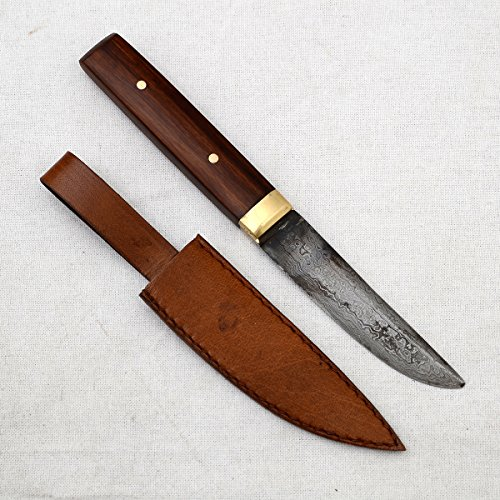 Ectoria EC03-D037 Real Rajasthani Damascus 9 inch Utility Knife handmade