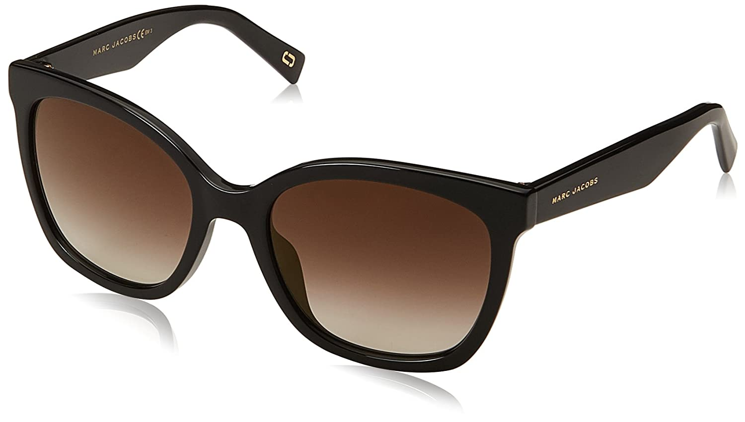 Marc Jacobs Marc 310/S 08 Gafas, Black/BW Brown, 54 Mujeres ...