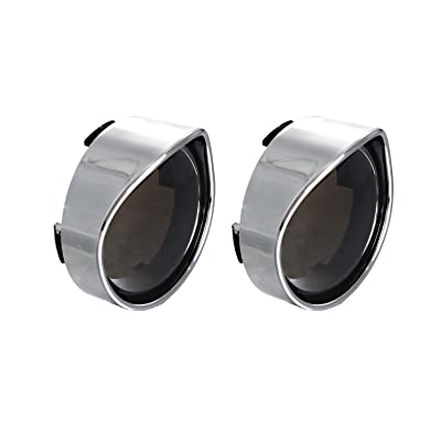 NTHREEAUTO Smoked Bullet Turn Signal Light Lens Cover with Chrome Visors Compatible with Harley Dyna Sportster Street Electra Glide Road King Fatboy: Automotive
