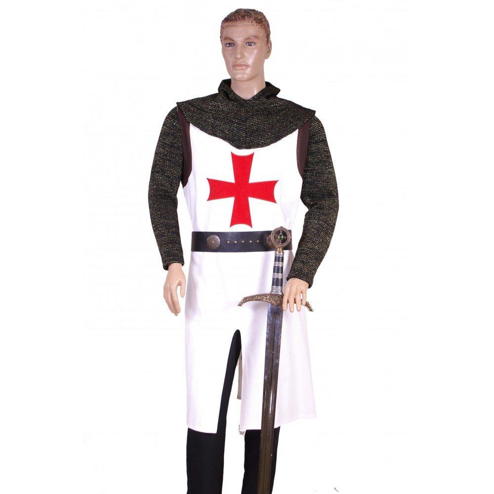 Medieval Factory Traje Templario Cruz V: Amazon.es: Juguetes y juegos
