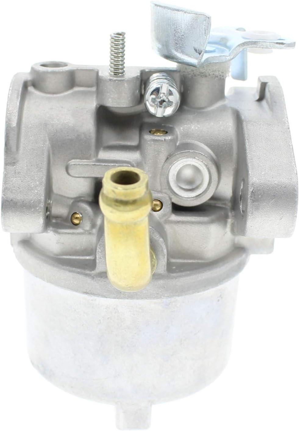 QAZAKY Carburetor Kit Replacement for Briggs /& Stratton 590907 594014 791955 794197 794588 798918 Craftsman 536.881851 Snowblower 8.5HP 15B100 15C100 15D100 15Z100 15Z300 Series Engine Lawnmower