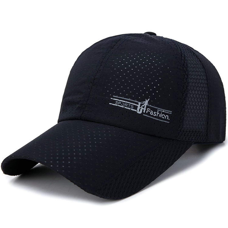 96b3cd9cef3bf Fashion Quick Drying Spring Summer Baseball Caps Men Women Outdoor ...