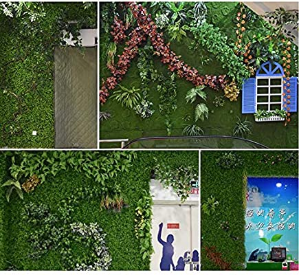 Xiaolin Paneles de vegetación de Cerco de privacidad de Plantas de Cobertura Artificial para Exteriores o Interiores, Decoraciones de Bodas de jardín (Color : 01): Amazon.es: Hogar