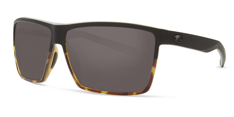 Costa Unisex Rincon Matte Black/Shiny Tortoise/Gray 580g One Size