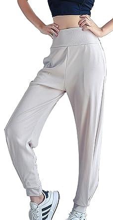 Ecupper Pantalones de Yoga para Mujer Joggers Deportivos con ...