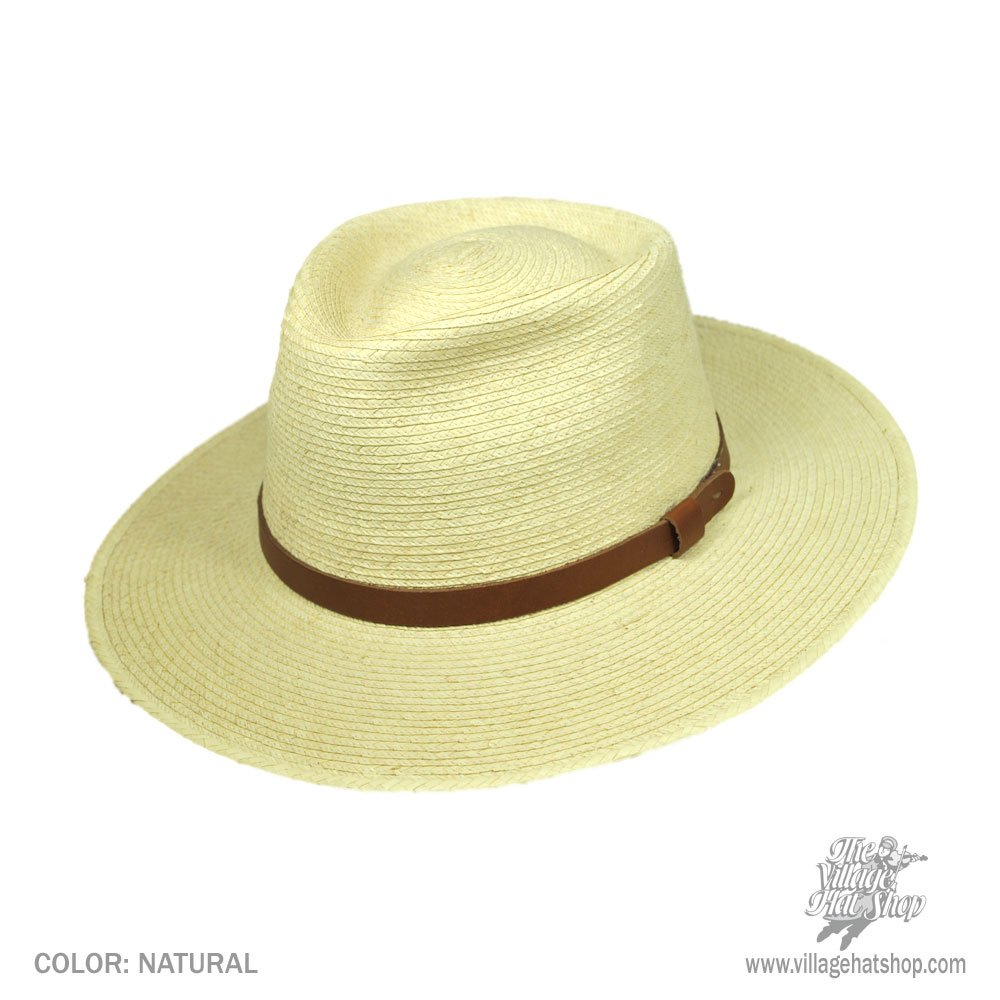 38ab63ea SunBody Hats Tear Drop Guatemalan Plam Leaf Straw Fedora Hat at Amazon  Men's Clothing store: