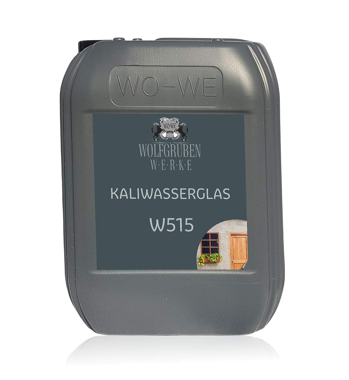 Kaliwasserglas Haftgrund Bindemittel Versiegelung Mauerabdichtung W515-10L WOLFGRUBEN WERKE