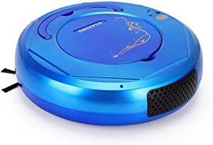 YLOVOW Robot Vacuum Cleaner, Robot Vacuum, 5 Cleaning Modes, All-New Upgraded, Easy Cleaning and Self-Charging, Anti-Fall Good for Pet Hair Carpets Hard Floors,Blue