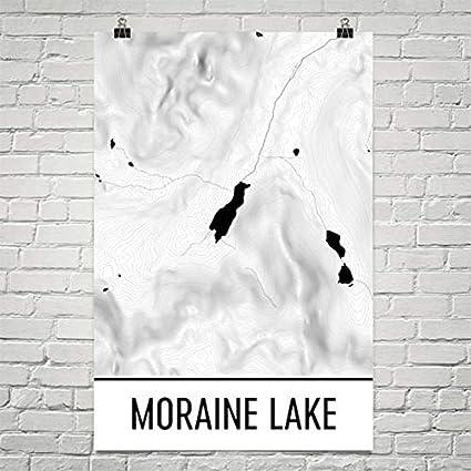 Amazon Com Moraine Lake Banff National Park Print Banff Alberta