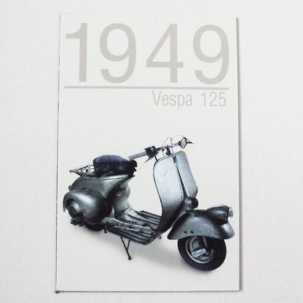 Agility Vespa125 (1949 Year) Motorcycle Art 1 Collectible Vintage Photo Fridge Magnet