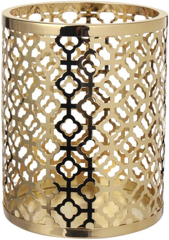 キャンドルホルダ キャンドルホルダーセットキャンドルライトディナー結婚式ロマンチックな燭台、ホームデコレーションのホームデコレーションホリデーギフト キャンドルスタンド (色 : Brass, Size : M)