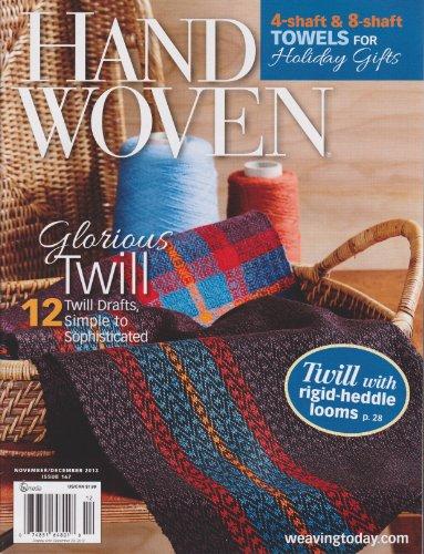 Hand Woven Magazine November/December 2013