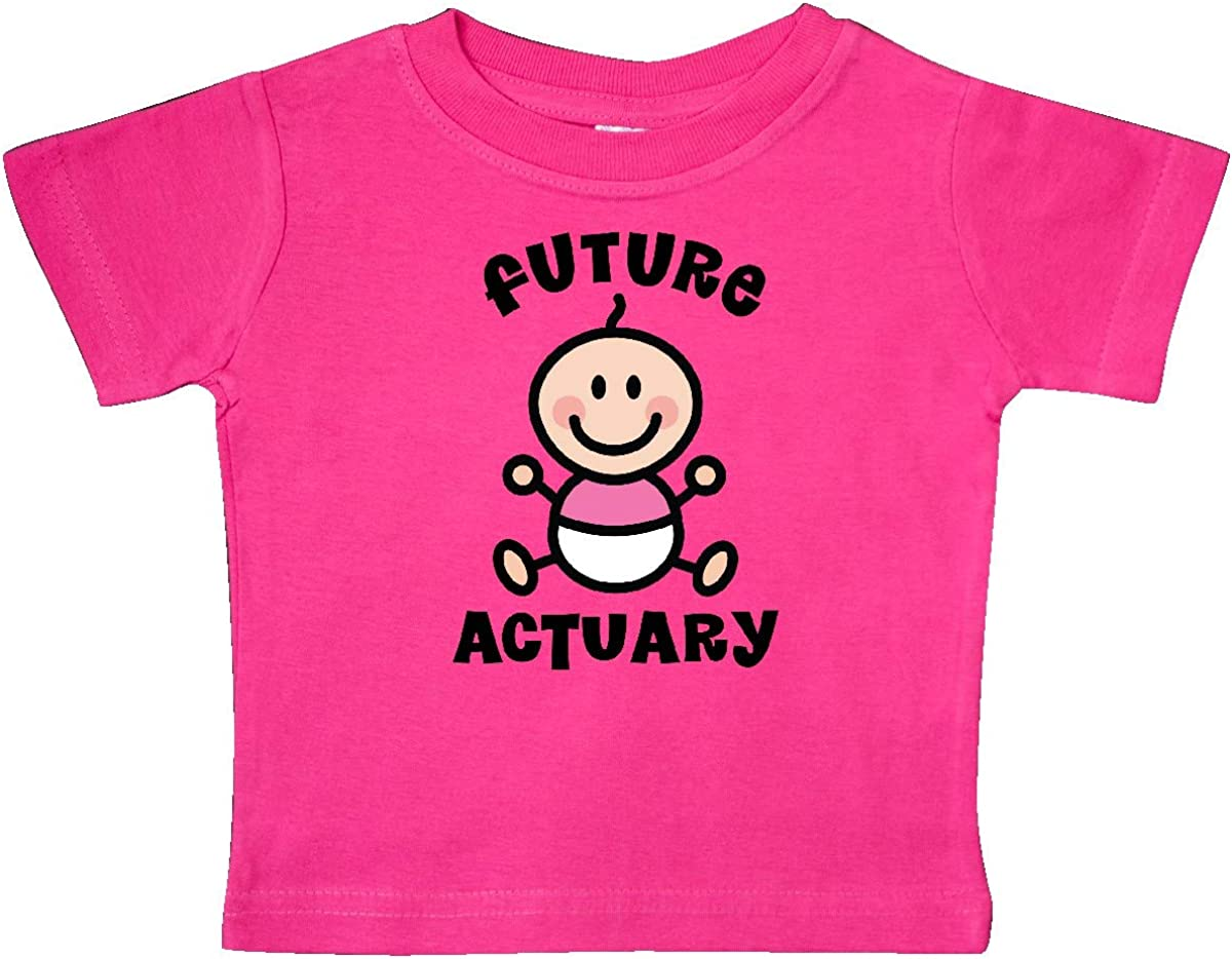 inktastic Future Actuary Baby Girl Baby T-Shirt