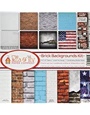Reminisce EAV-796 Brick Backgrounds Collection Kit