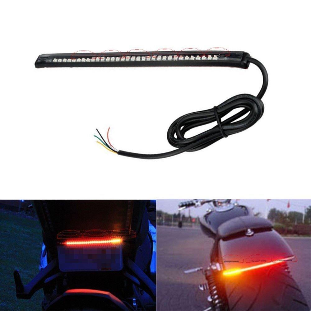 PR LED Strip Tail Light Turn Signal Brake Indicator- For TVS ...