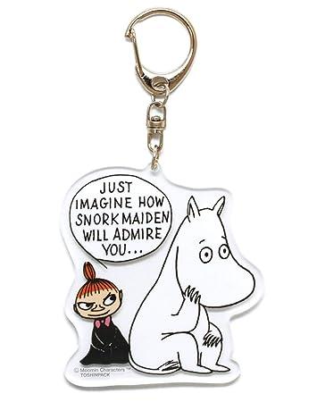 Amazon.com: Moomin Little My Llavero acrílico: Office Products