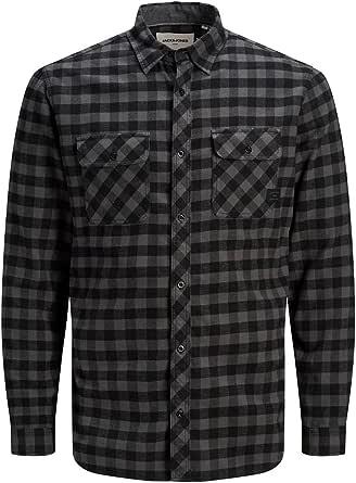 Jack & Jones Jcosteve Shirt LS Worker Camisa para Hombre
