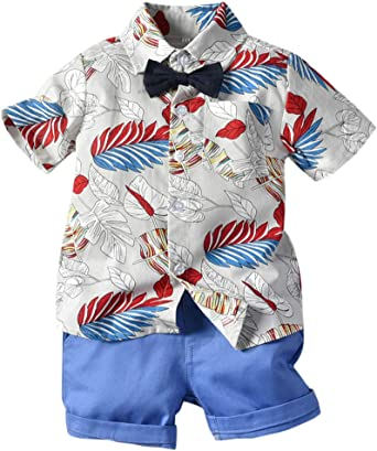 6 Months 5 Years ARTMINE Baby Boy Floral Outfit