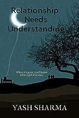 Relationship Needs Understanding Paperback