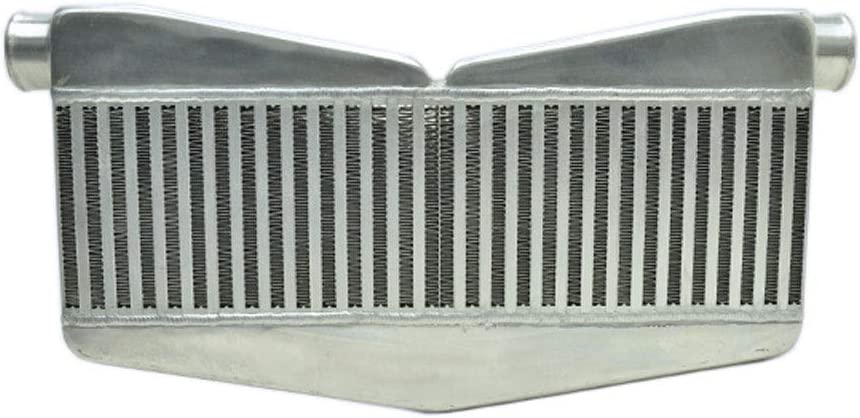 Aluminum Construction Universal Application Custom Job Rev9 IC-016 IC-016 Twin Turbo Ver.2 Intercooler Bar And Plate Design