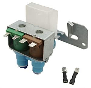 (KS) WR57X10051 WR57X10032 AP3672839 PS901314 WR57X10040 WR57X10018 WR57X99 WR57X98 WR57X92 Refrigerator Water Valve Exact fit for GE Pump