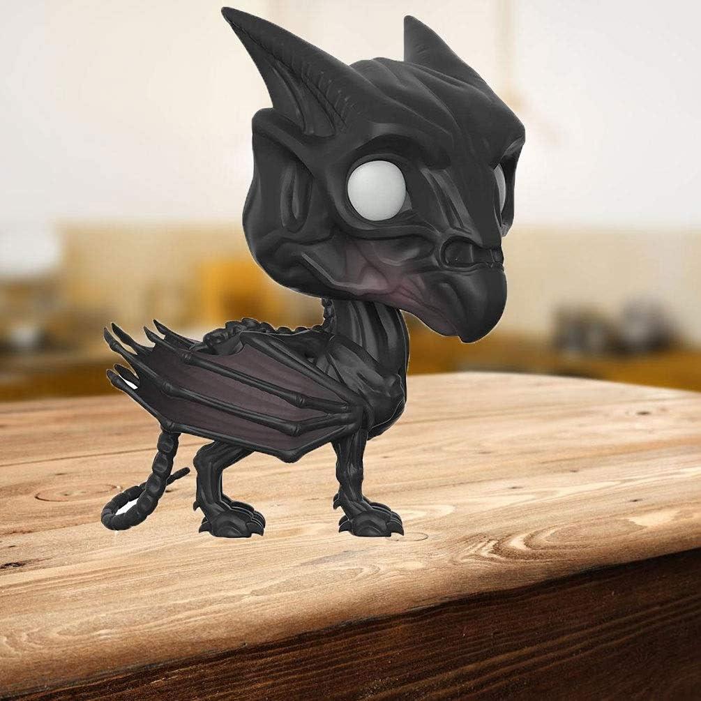 WDXFD Anime Animales fantásticos y dónde encontrarlos Pop Figura 2.019 Año 306 de la Serie del Animado Figura PVC Caja Estatua 10CM: Amazon.es: Hogar