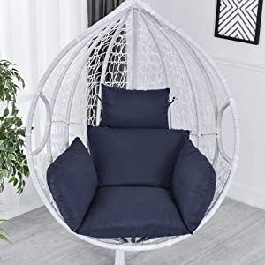 Cushions for Hammock Chairs, Swing Cushions for Large Sizes in, Hanging Mattresses for Rattan Chair, Backs for Hanging Chair with Thick Bottom with Cushions