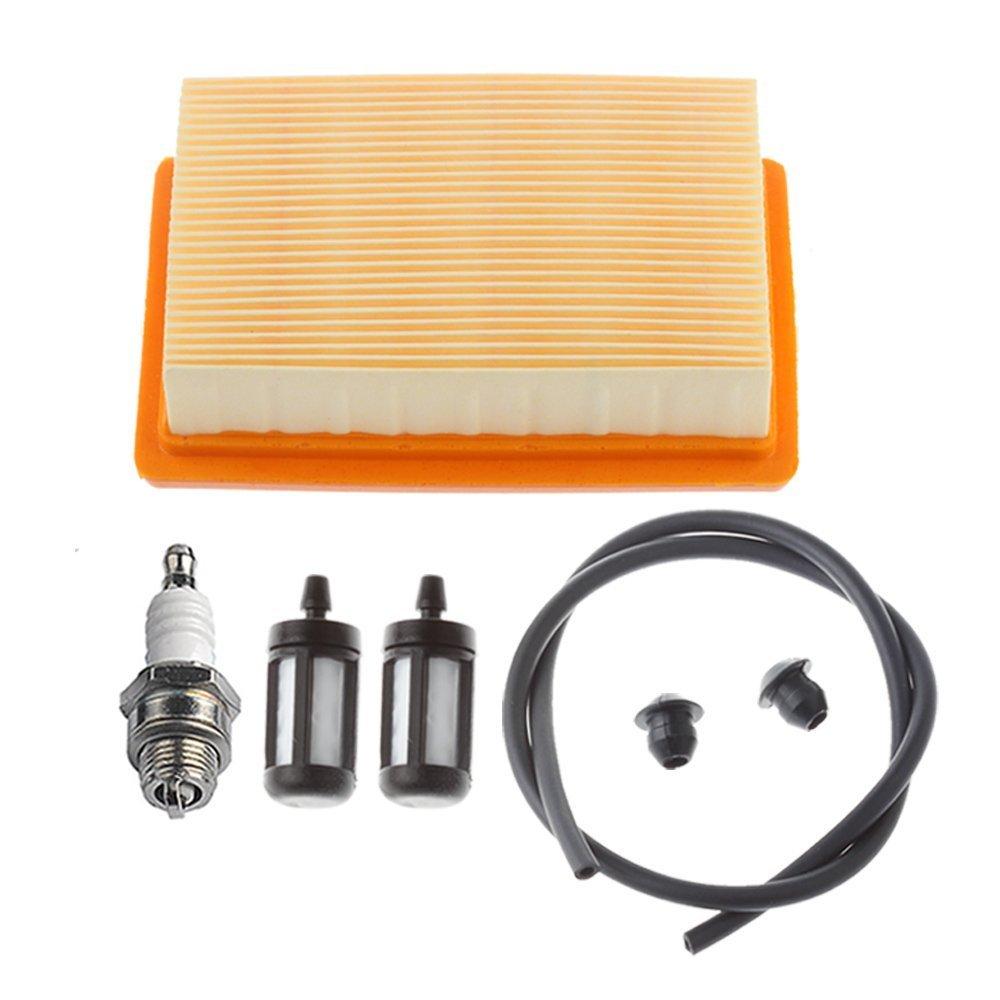 HIPA Tune up kit Air Filter Fuel Line Filter Spark Plug for STIHL BR340 BR340L BR380 BR420 BR420C SR340 SR420 Backpack Blower