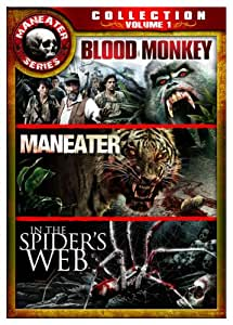 Maneater Series Collection Vol. 1 (Blood Monkey, Maneater, In the Spider's Web)