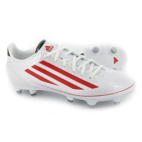 Adidas RS7 SG F10 Rugby Boots WhiteRed size 9: Amazon.co