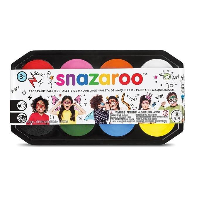 Snazaroo- Paleta de pintura facial, Multicolor (Colart 80818)