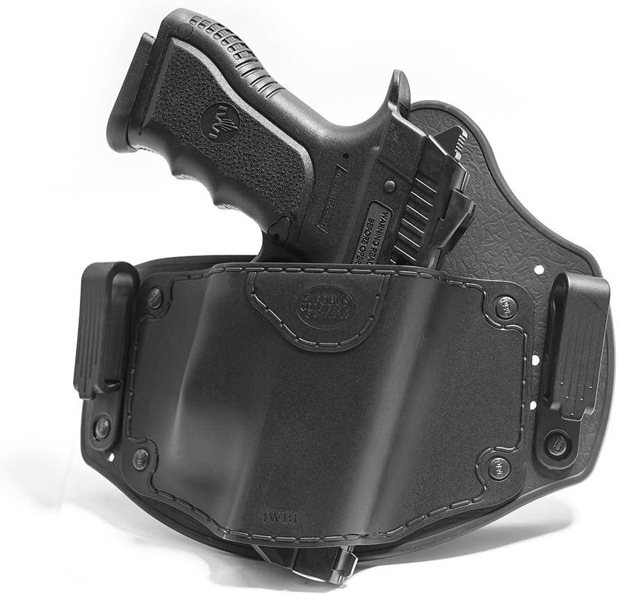 Fobus New IWBL CC (Combat) Holster Right Hand IWB Inside Waistband Pasive Retention Holster for IWI Jericho 941 Polymer & Steel Frames Pistol Handgun