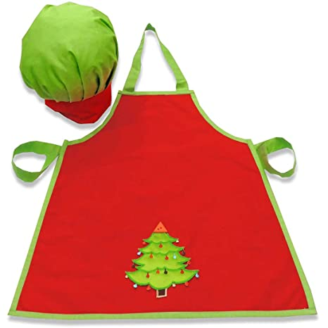 Buy Christmas Tree Chef Apron and Hat - Toddler Online at Low Prices in  India - Amazon.in a377468d1327