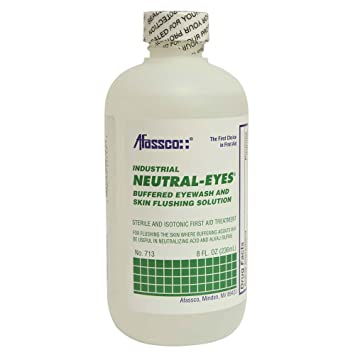 Afassco 713 Neutral-Eyes 8 oz Sterile Eye Wash Watersall Splash Cool Swimming Pool In A Can, 14.0 oz.
