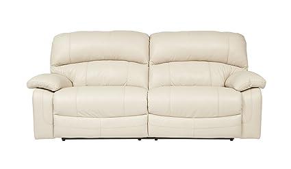 Ashley Furniture Signature Design   Damacio Recliner Sofa   2 Seats   1  Touch Powered Reclining