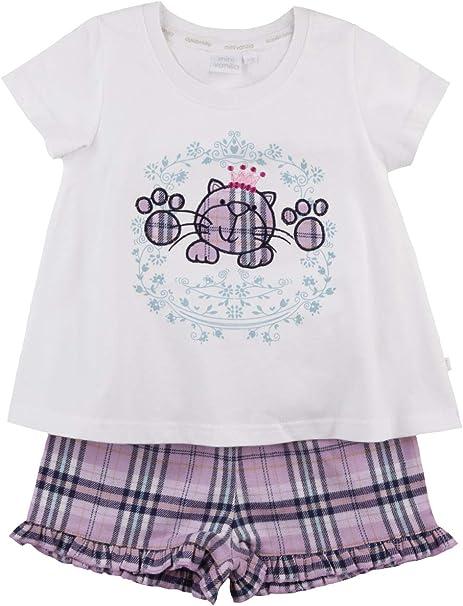 Boys Girls Baby Kids Shortie Short Pyjamas Pajamas T-Shirt Summer 1-10 Yrs