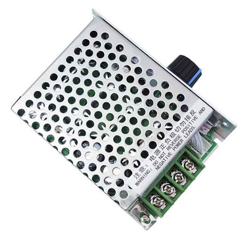 Xuanhemen Digital Display Governor PWM DC Stepless Motor Speed Control Switch High Power Controller PWM Speed Regulator