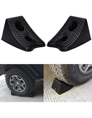 Dyda6 2 Tapones de Rueda Antideslizantes para Coche, Resistentes, para estacionamiento de neumáticos de