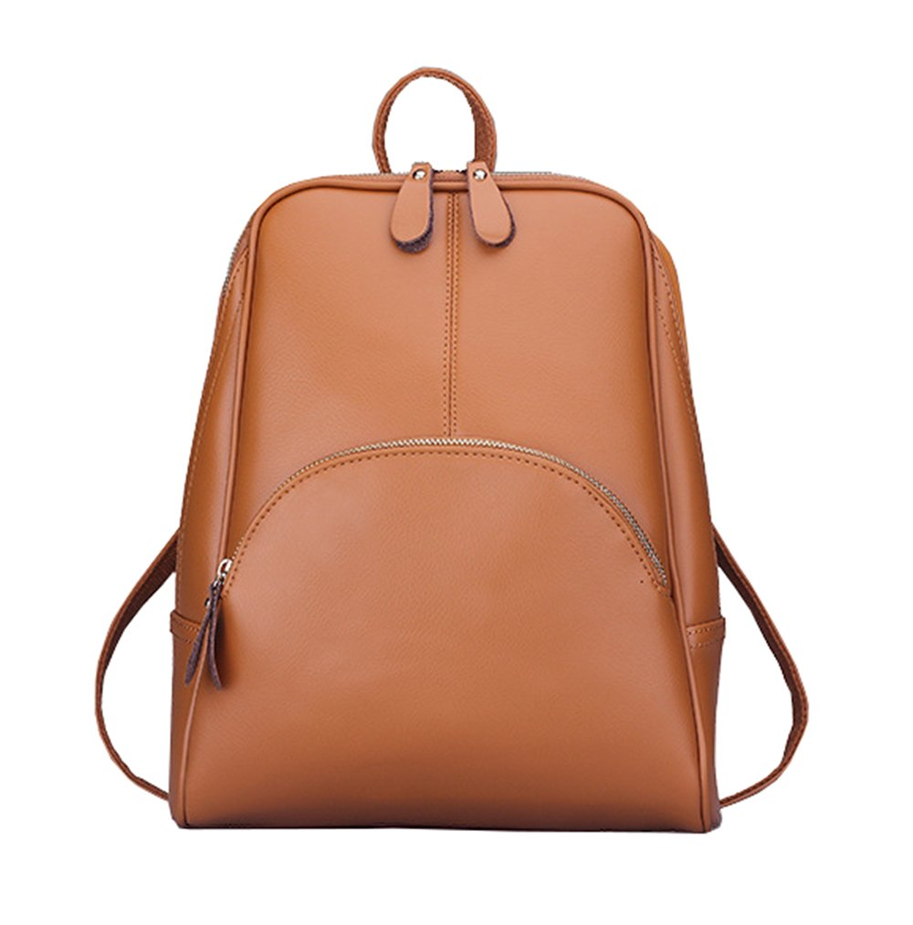 Aiseyi Women Backpack Purse Fashion Leather Large Travel Bag Ladies Shoulder Daypack (Brown)