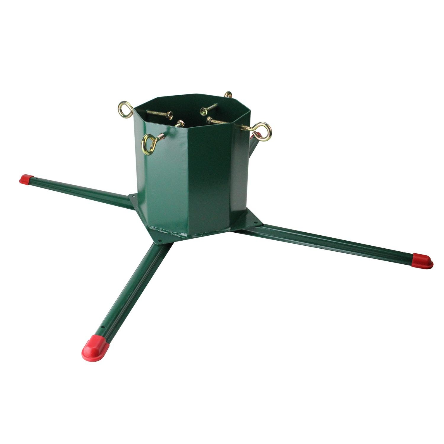 Jack Post Heavy Duty Welded Christmas Tree Stand - For Real Live Trees Up To 14' Tall