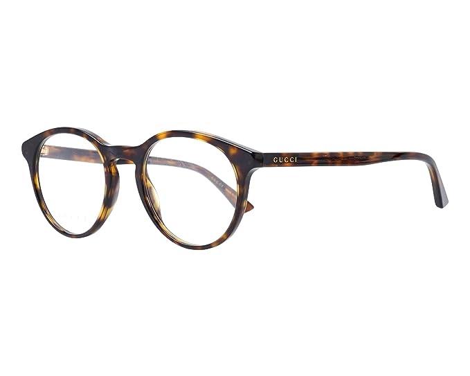 moda più desiderabile vendita a buon mercato nel Regno Unito forma elegante Gucci Occhiali da Vista GG0406O DARK HAVANA uomo: Amazon.it ...
