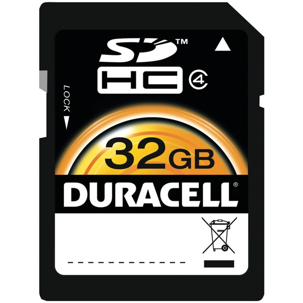 Duracell du-sd1032g-rクラス10 SDHC ( TM )カード( 32gb )アクセサリーElectronics   B019ADYP3U