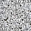 Brushscript All You Need is Love Gift Wrap Flat Sheet - 24in x 6ft
