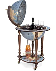 """Da Vinci """"Blue Dust"""" """"Made in Italy"""" Bar Globe with Certificate of Authenticity"""